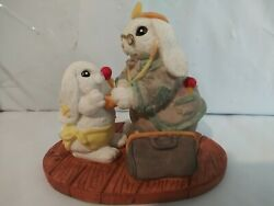 The Patchville Bunnies, Alexander And Doc, New, Nice Easter Decoration Or Gift