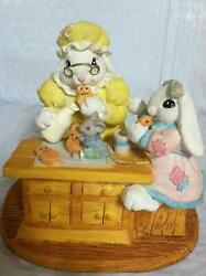 The Patchville Bunnies, Grandma's Cookies, Nice Easter Decoration Or Gift