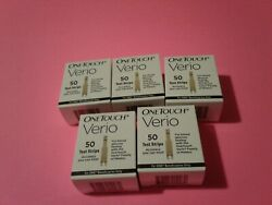 One Touch Verio Diabetic Test Strips DME White Box 550 Ct ( 11 boxes )