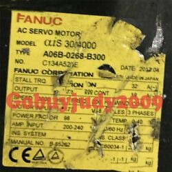1pc Used Fanuc A06b-0268-b300 Tested Lt In Good Condition