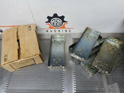 Raco 953 4 Gang Box 1/2 And 3/4' Concentric Ko's 4g-1/2 And 3/4 5 Boxes New