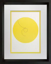 Max Bill Lithograph Original Hand Signed Constellations Custom Archival Frame