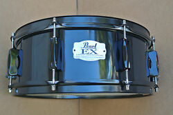 PEARL EXPORT EX SERIES 14quot; in BLACK SNARE for YOUR DRUM SET LOT #C135