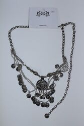Republique Francaise 1908 Coin Necklace Costume Jewelry Designed In Usa Nwt