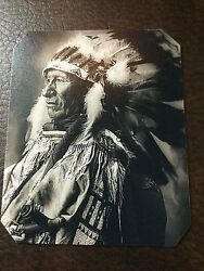 Native American Black Bear Ogalla Sioux Tintype C301rp