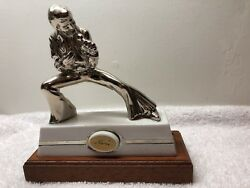 Very Rare - Elvis Presley Silver Mini Decanter - Only 500 Made-mail Order Only