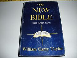 Very Rare The New Bible Pro And Con Jehovah's Witnesses Watchtower Research