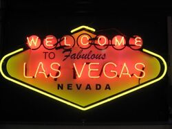 New Welcome To Las Vegas Bar Beer Light Lamp Neon Sign 24x20