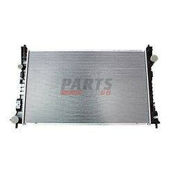 New Radiator With Transmission Oil Cooler Fits 2009 Ford Flex 8a8z8005a