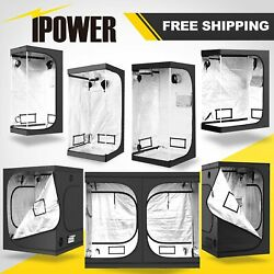 iPower Hydroponic Mylar Grow Tent for Grow Light and Indoor Plant Growing