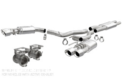 Magnaflow Cat-back Exhaust System Kit-street Series For 18-19 Ford Mustang V8