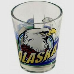 ALASKA 3 VIEW SHOT GLASS SHOTGLASS $7.61