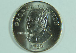 George Clinton Commemorative Medal State Of New York M-082