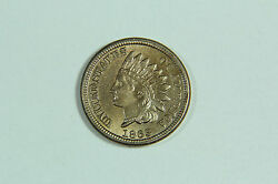 1863 Indian Head Cent Mint State Uncirculated C-185