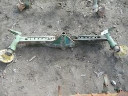 John Deere 1010 Tractor Front Axle W/ Hubs Part T12762t Tag 280