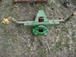 John Deere 4430 Tractor Front Axle W/ Hubs And Housing Part R49640 Tag 268