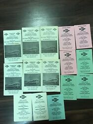 1966-1967 Red Arrow Lines Norristown Division Vintage Brochure Collection Lot