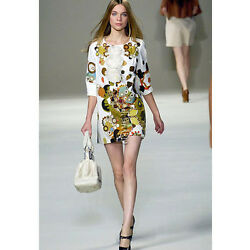 Forever Phoebe Philo Floral Ruffle Dolly Bubble Dress F36 Xs Small M