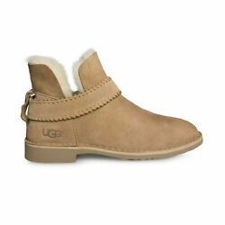 Ugg Mckay Chestnut Suede Ankle Strap Womenand039s Boots Size Us 11/uk 9.5/eu 42 New