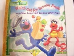Sesame Street Watch Out For Banana Peels And Other Important Sesame Safety Tips