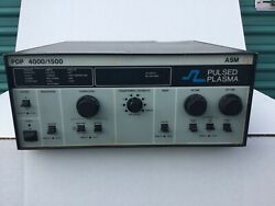 Advanced Energy / Asm Pdp 4000/1500 Pulsed Plasma Controller 6009-000-a