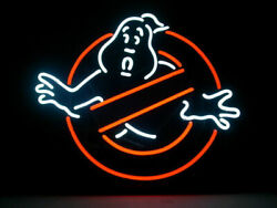 New Ghostbusters Ghost Beer Bar Cub Artwork Neon Light Sign 20x16
