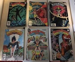 Wonder Woman 1 - 43 1987-90 Vf+ Condition Dc Comic Book Lot Of 45 W/ Annuals