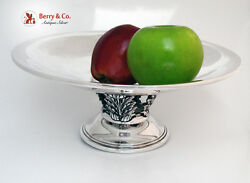 Art Deco Fruit Bowl Acanthus Leaf Gorham 1940 Sterling Silver