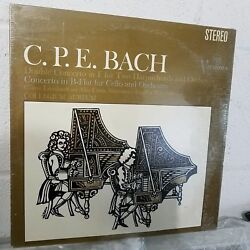 NEW! C.P.E.Bach Double Concerto in F for 2 Harpsichords (c)1968 Vinyl LP SEALED!
