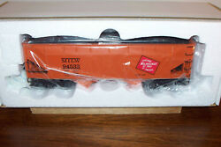 K-line Train K6251-1371 Milwaukee Road Die-cast Two-bay Hopper With Coal Load