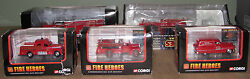Lot Of 5 Corgi Toys Fire Trucks Never Removed From Box Mint Condition Usc792