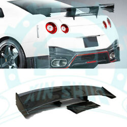 Carbon Rear GT Wing Spoiler For Nissan R35 GTR CBA DBA 2008-2015 ab395