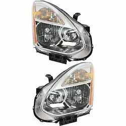 HID Headlight Set For 2008 Nissan Rogue Driver and Passenger Side w bulb