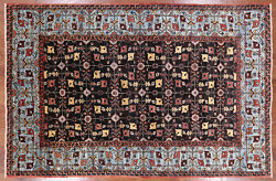 Fine Serapi Hand Knotted Wool Area Rug 5and039 3 X 7and039 11 - P9974