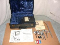 Fpm Alnor Velometer Type 3002 Used With Case Manual Parts Free Sandh