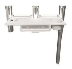 Taco F31-0781bxy-1 Deluxe Trident Rod Holder Cluster Offset With Tool Caddy