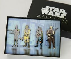 Star Wars Pin Weekends Limited Edition 2007