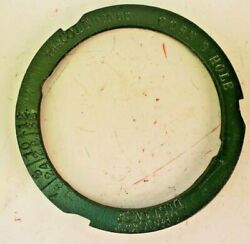 Cole 3 Cell Corn Seed Plate For Vintage Charlotte Nc Corn And Cotton 1 Row Planter