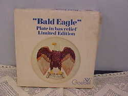 Goebel Bicentennial Bald Eagle Collector Plate Box And Paperwork No Plate Sorry