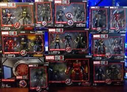 Marvel Studios First Ten Years Legends Complete Collection With Sdcc 0