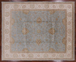 Hand Knotted Turkish Oushak Rug 8' 2 X 10' 2 - P3555