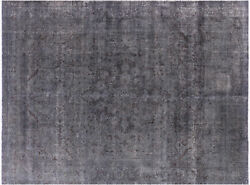9and039 7 X 13and039 0 Hand Knotted Overdyed Rug - P3881