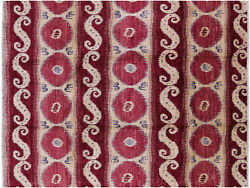 Ikat Hand-knotted Wool Area Rug 7' 10 X 10' 4 - P4884