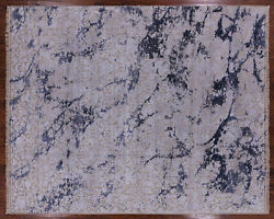 8and039 1 X 10and039 1 Hand Knotted Wool And Silk Rug - P8514