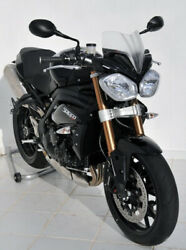 Ermax Nose Fairing Windshield 21cm For Triumph Speed Triple 1050 And03911- - White