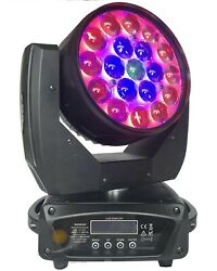 19 X 15w Zoom Wash Led Moving Head Light Rgbw 4in1 Led For Dj Disco Party Light