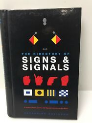 Catherine Davidson The Directory Of Signs And Signals Hardcover Book 2004