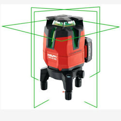 Multi Line Green Laser Level Pm 40 Mg Measure And Layout Hand Tools