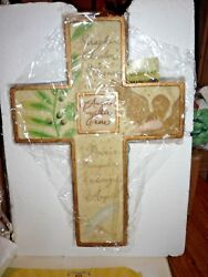 Garden of Grace CROSS COLLECTION #x27;#x27;ANGELS GATHER HERE#x27;#x27; #29602 NEW IN BOX $22.24