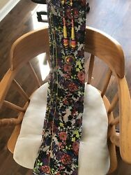 Designer Scarf With Matching Necklace